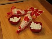 Valentine's Hot Cocoa Cone