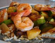 Mustard Glazed Shrimp