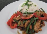 Stir Fry Chicken with Basil