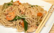 Seafood Noodles and Oyster Sauce
