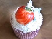 "Making Strawberry and Cream Cupcakes - ""Wimbledon"""
