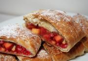 Peach Or Raspberry Strudel