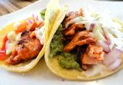 Baked Salmon Tacos with Slaw