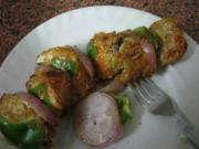 Chicken and Sweet Pepper Kebabs