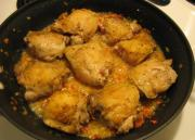 Chicken Fricassee Brown Sauce