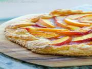 Fresh Peach Crostata {Rustic Peach Tart}