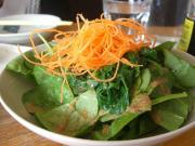 Spinach Salad with Sesame Dressing