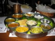 A Classic North Indian Thali