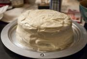 Creme Sherry-Nutmeg Cake