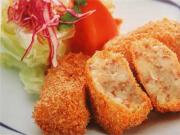 Korokke makes sumptuous meals with cream filling.
