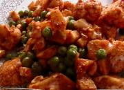 Curried Flavor Cauliflower & Peas For Pizza Topping, Sandwich Or Khichadi
