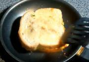Indian Style Veggie Omelet Sandwich