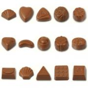 Mold chocolate without corn syrup