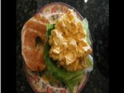 Spiced Up Egg Salad Bagel