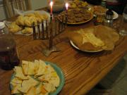 It is not difficult to plan a vegan Hanukkah party menu