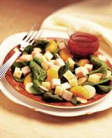 Oriental Turkey & Swiss Salad