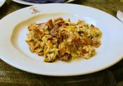 Bacon And Mushroom Scramble