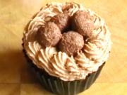 Party Chocolate Truffle Cupcakes