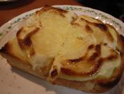 Thin Garlic Cheese Toast