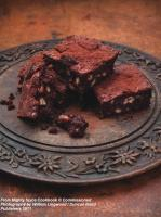 Dark Chocolate, Clove and Cinnamon Brownies