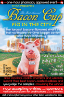 The Bacon Cup in Portland.