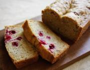Cranberry-Oat Bread
