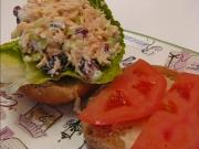 Betty's Cranberry Almond Chicken Salad Sandwich