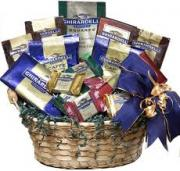 A gift basket for Christmas