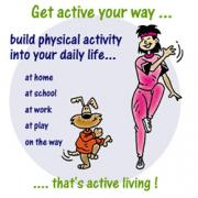 indulge yourself in physical activity