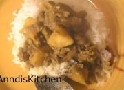 Curried Liver with Steamed Rice