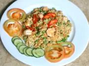 Stir-fried Tuna Rice