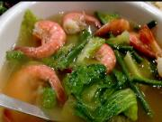 Vegetable Shrimp Soup