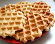 Plain Crispy Waffles