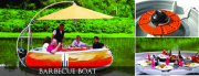 Barbecue boat redefines the experience of BBQing.