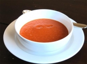 Cold Fresh Tomato Soup