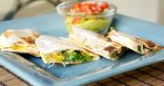 Grilled Quesadillas with Yogurt Salsa