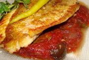 Red Snapper in Tomato-Onion Sauce