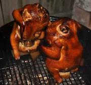 WSM BBQ's Chicken - Bock & Brown Sugar