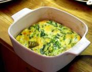 Cheese Spinach Souffle