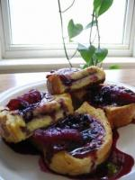 Fruited French Toasted Sandwiches