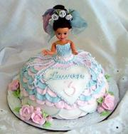 Tips on how to decorate doll cakes