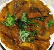 Spicy Mushroom Onions