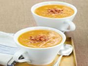 Wegmans Root Vegetable Soup with Pancetta & Truffle Oil