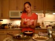 How to Cook Peppercorn Steak Rubbed Hamburgers: Cooking with Kimberly