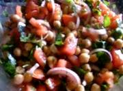 Arabic Chickpea Salad Recipe