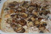 Baked Rice And Mushrooms