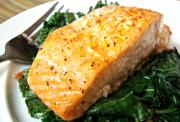 Broiled Salmon Steaks