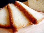 Golden Brown Lemon Cake