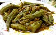 The simplicity of Baamiyah or the Afghan okra makes the dish utterly delicious