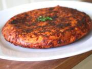 Capellini Frittata with Pancetta and Peas
